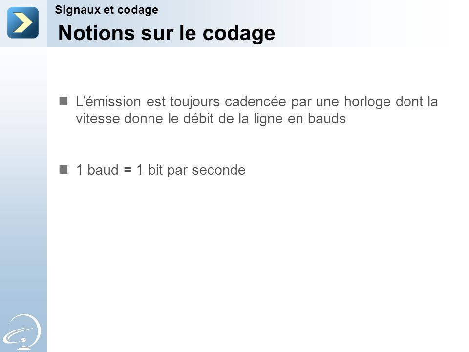 2-Apr-17 Signaux et codage. [Title of the course] Notions sur le codage.